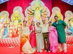 Kajol's Durga Puja festivities