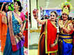 A colourful get-together for these ladies in Prayagraj