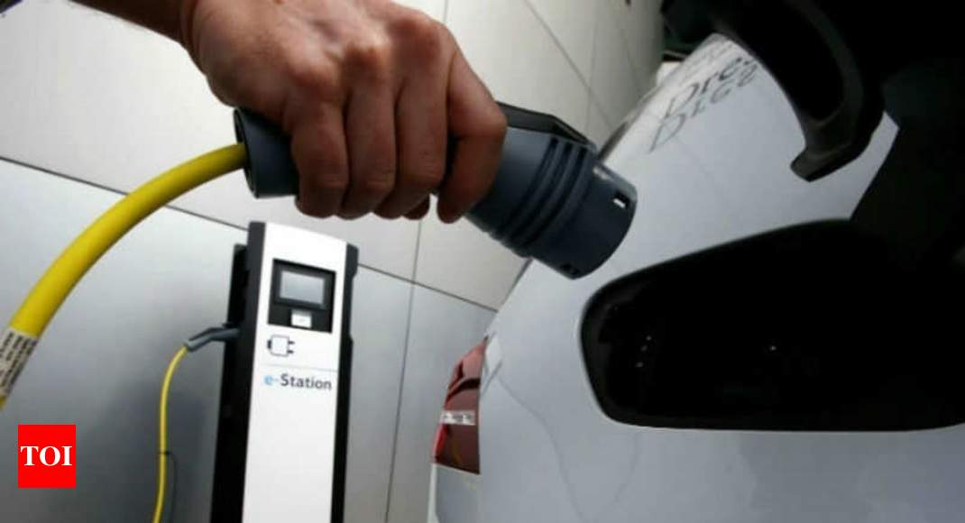 Private charging at homes, offices allowed for EVs - Times of India thumbnail