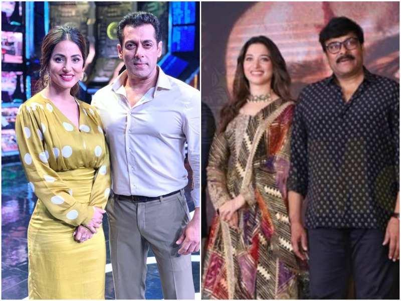 Bigg Boss 13 Weekend Ka Vaar: After Hina Khan, Tollywood actors Chiranjeevi and Tamannaah Bhatia to grace the show