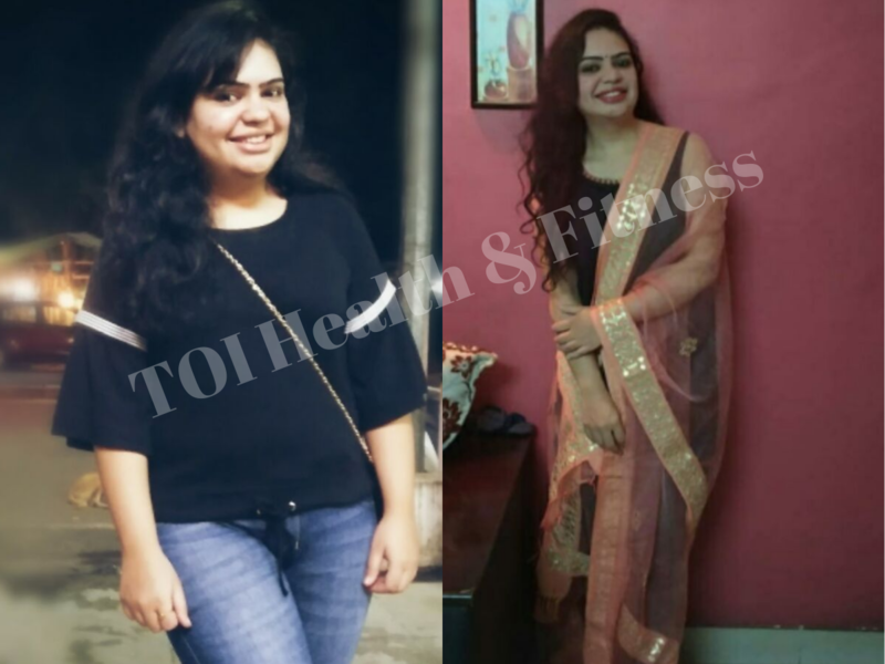 Weight Loss Story This Girl Lost 15 Kilos By Working Out At Home Here Is What She Did Times Of India