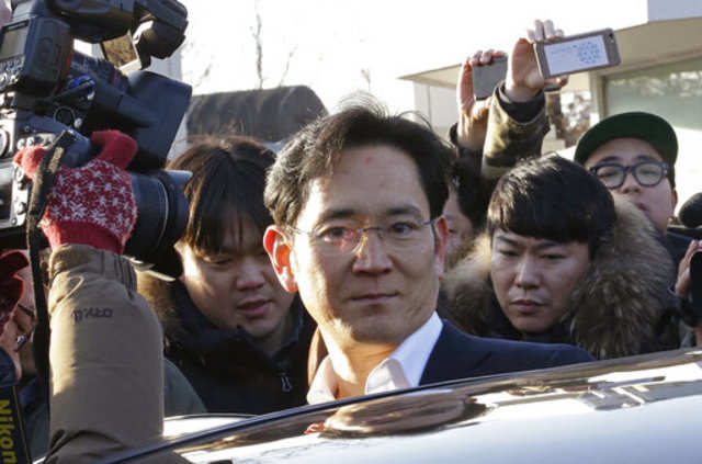 Samsung heir in India may meet PM Modi, Mukesh Ambani