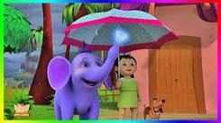 Children Popular Rhyme In Marathi 'Rain,Rain Go Away' - Nursery Rhymes For Kids