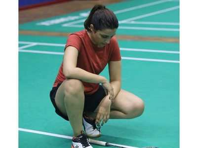 Pic: Parineeti preps for Saina Nehwal biopic
