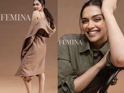 Pics: Deepika Padukone sizzles on Femina Cover