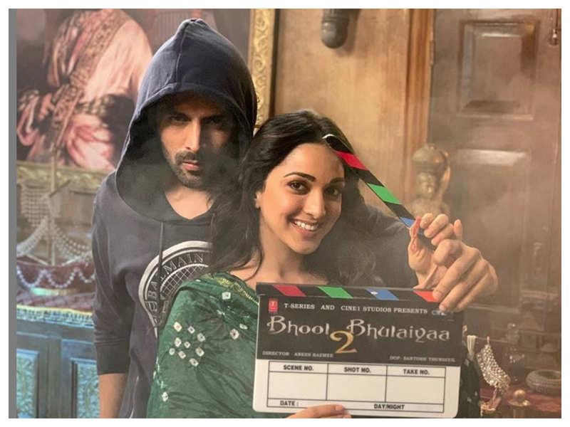 'Bhool Bhulaiyaa 2': Kartik Aaryan and Kiara Advani kick-start shooting for the much-awaited sequel