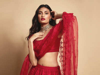 The perfect lehenga for first Karwa Chauth