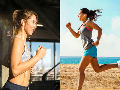 Why running outdoors is more challenging than running on a treadmill?