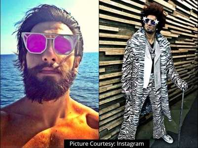 In Pics: Ranveer's shades skim out 'FUN'