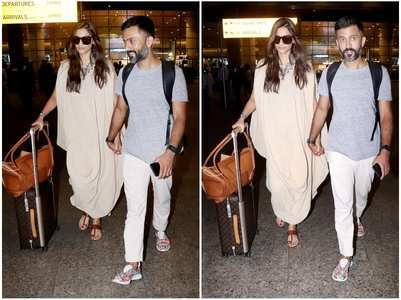 Sonam and Anand are back from their Maldives