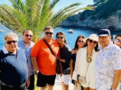Neetu's Italian getaway with Rishi Kapoor