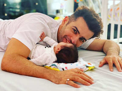 Jay Bhanushali shares pic with daughter