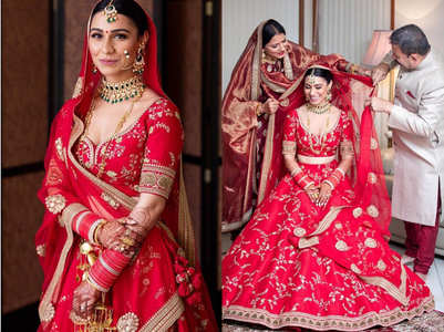 This Australian Sikh bride proved red is the best wedding lehenga hue ever