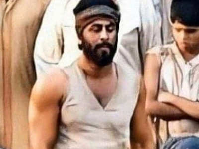 Pics: A buffed up Ranbir looks unrecognisable