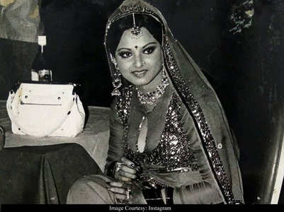 Here's how Rekha looked 40 years back!