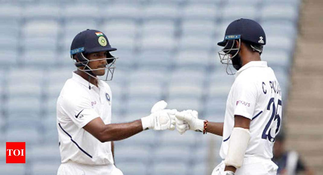 India vs South Africa: Mayank has learnt the art of conversion from domestic cricket, says Pujara - Times of India