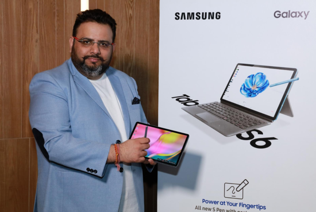 Samsung Galaxy Tab S6 with 10.5-inch display, Snapdragon 855 processor launched: Price, specs and more