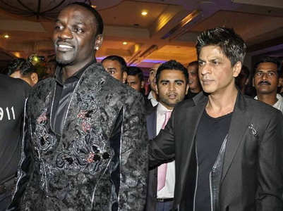 Flashback Friday: Akon with Shah Rukh Khan