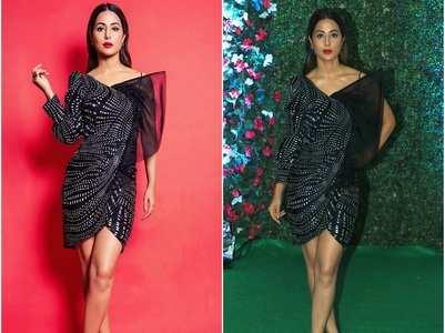 PICS: Hina-Karishma dazzle at Ekta's bash