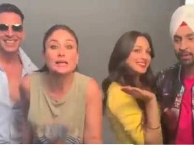 Bebo & Kiara take up the 'Bala' challenge