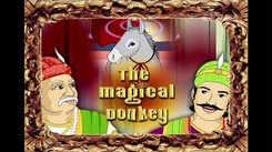 Kids Stories | Nursery Rhymes & Baby Songs - 'Akbar and Birbal - The Magical Donkey'- Kids Nursery Story In Tamil