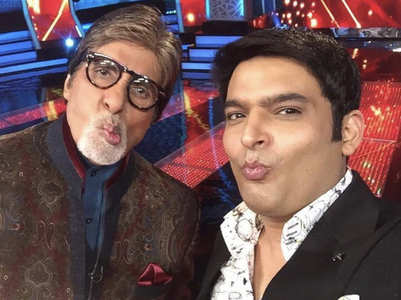 Kapil wishes Amitabh Bachchan on his bday