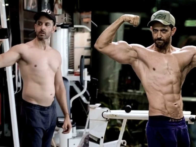 From Super 30's belly to War's six-pack abs, Hrithik Roshan shares details of his transformation
