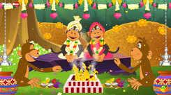 Best Kids Tamil Nursery Rhyme 'Kurangu Kalyanam' - Kids Nursery Rhymes In Tamil