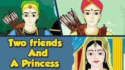 Kids Stories | Nursery Rhymes & Baby Songs - 'Two Friends And A Princess - Vikram Betal'- Kids Nursery Story In Tamil