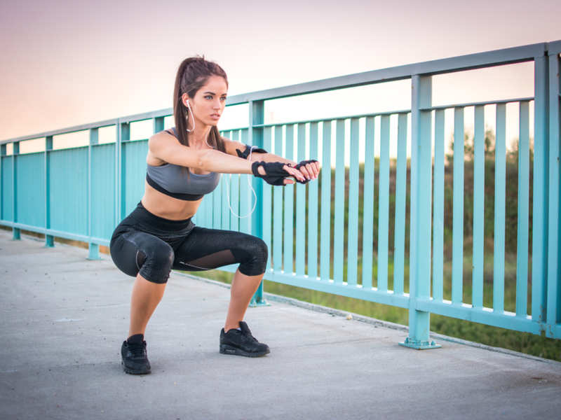The number of squats you need to do to get the perfect butt