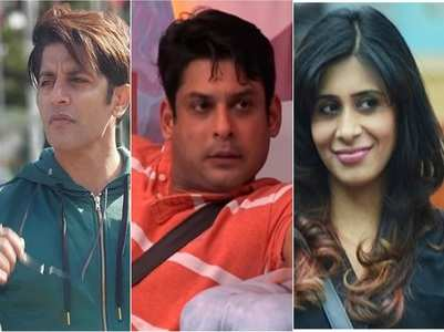 Karanvir, Kishwer slam BB 13's Sidharth
