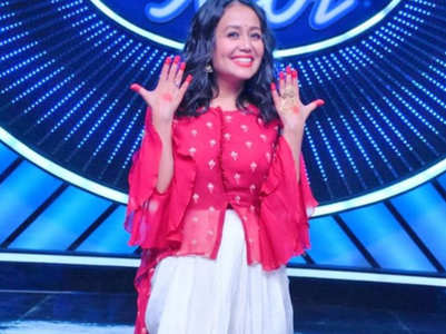 Indian Idol: Neha Kakkar shares inside pics