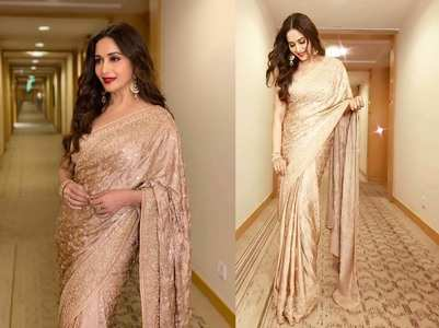 Madhuri Dixit Nene amps up her saree game!