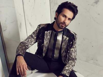 Shahid Kapoor says he was selfish!