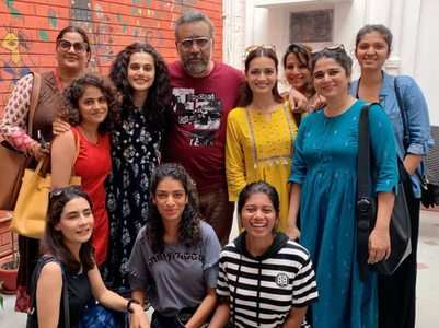 Taapsee Pannu's 'Thappad' wraps up