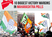 Maharashtra assembly polls: 10 big victory margins