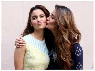 Alia Bhatt talks about her bond with Kareena