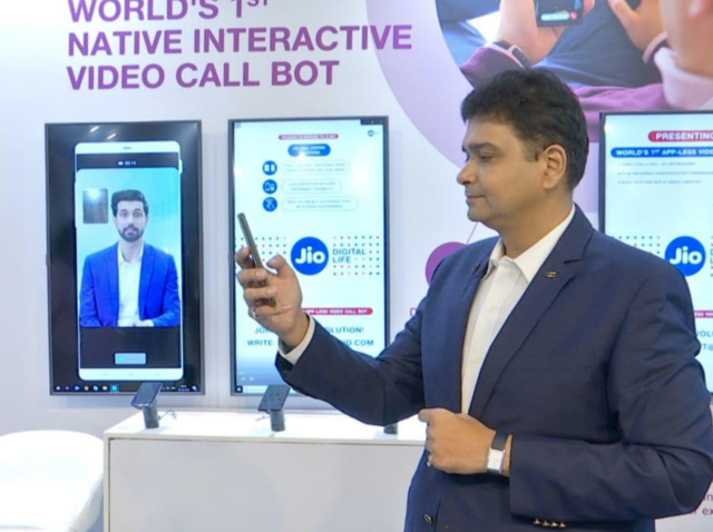 Reliance Jio wants to change the way you talk to customer care with new Video Call Assistant bot