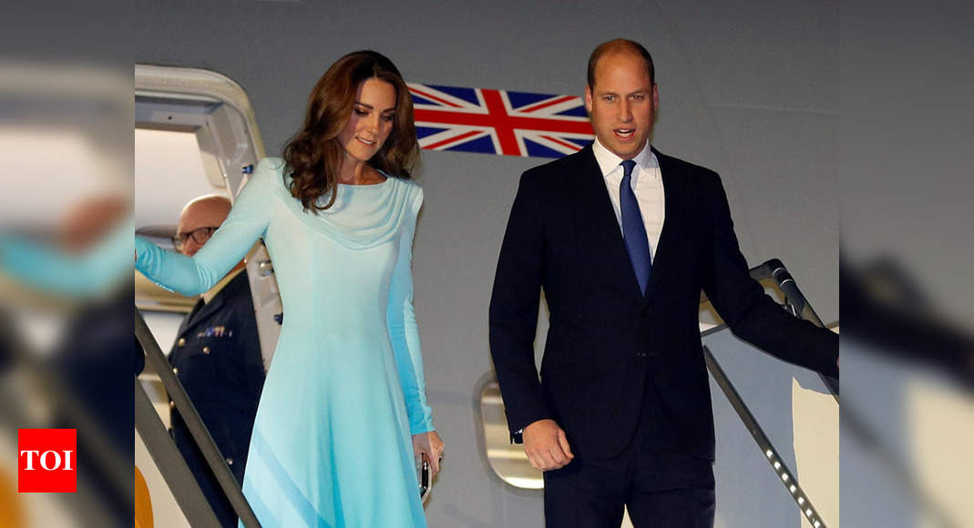 Prince William Kate Middleton Land In Pakistan Times Of India