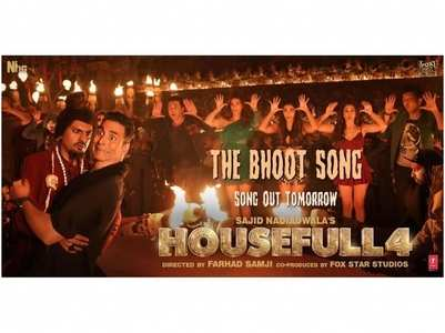 'Housefull 4': 'The Bhoot Song' out tomorrow!