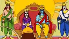 Kids Stories | Nursery Rhymes & Baby Songs - 'Hanuman - Selfless Service - Ramayan'- Kids Nursery Story In Tamil