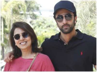 Neetu shares a pic of a dapper-looking Ranbir