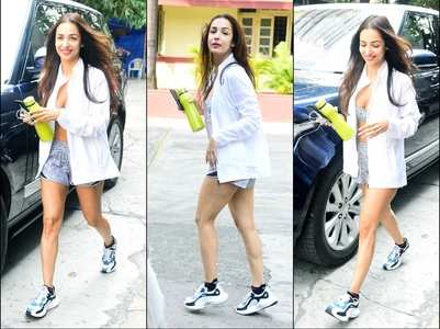 Pics: Malaika Arora looks fresh as a daisy