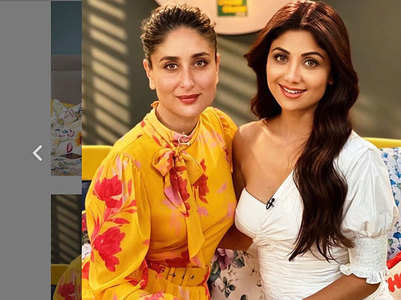 Shilpa Shetty &  Bebo pose for a perfect pic