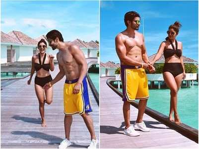 Debina-Gurmeet are vacationing in Maldives