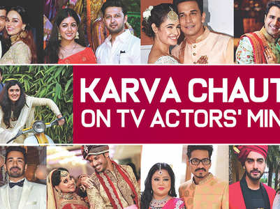 Telly actors have their Karva Chauth plans set