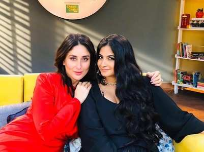 The Veeres reunite! Kareena-Rhea catch up