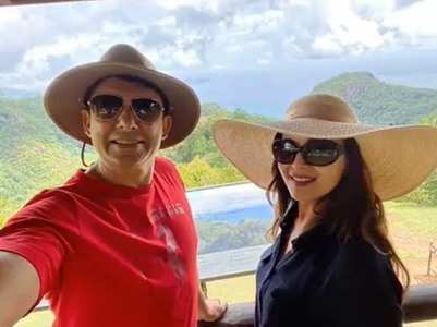 Madhuri shares pics from her Seychelles vacay