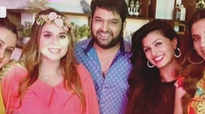 Inside pics from Kapil Sharma's wife Ginni Chatrath's baby shower