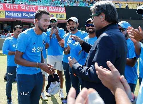 Hardik Pandya gets nostalgic remembering his ODI debut